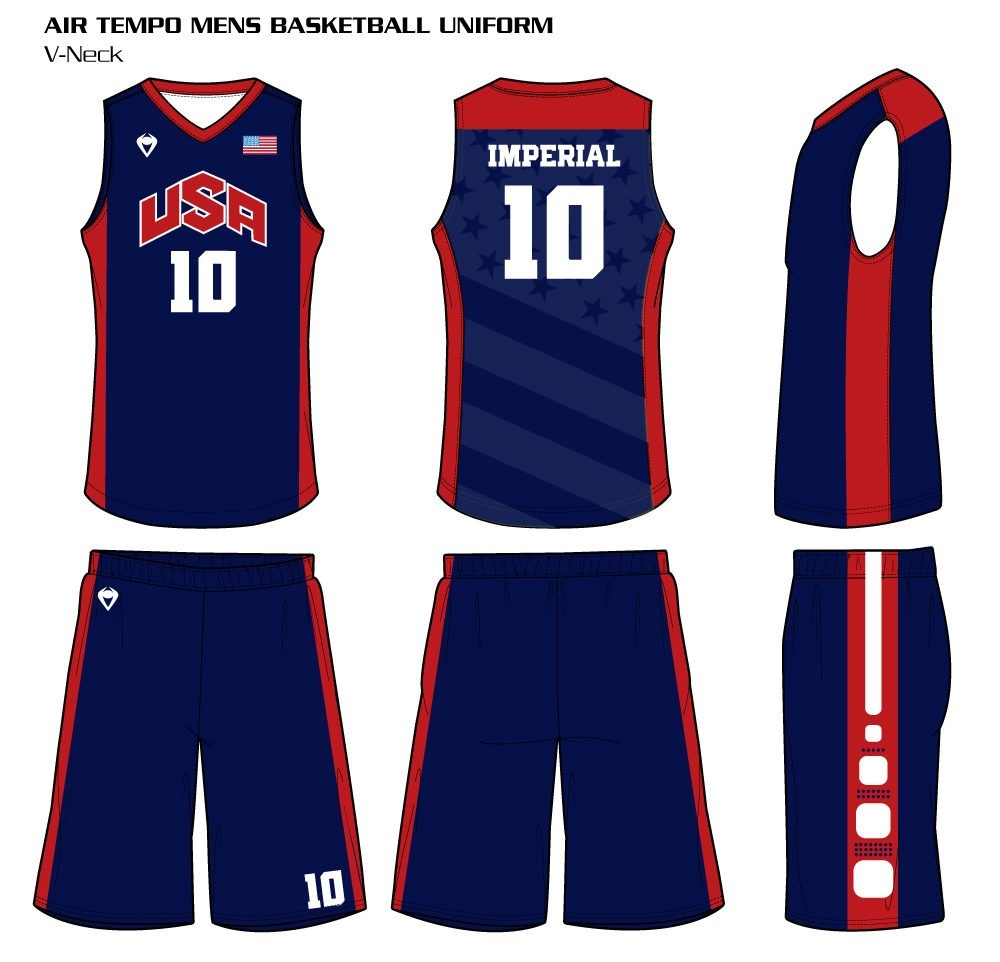 0495d77ef29 Home   Custom Basketball Jerseys. CUSTOMIZE. Air Tempo Men s Sublimated  Basketball Uniform Air Tempo Men s Sublimated Basketball Uniform