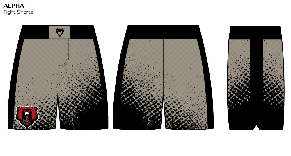Alpha Sublimated Fight Shorts