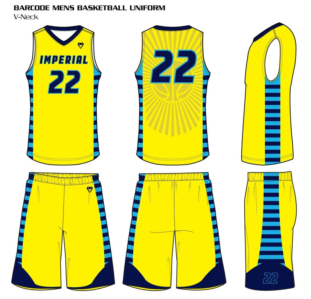 3fd83509c Barcode Men s Sublimated Basketball Uniform Barcode Men s Sublimated  Basketball Uniform