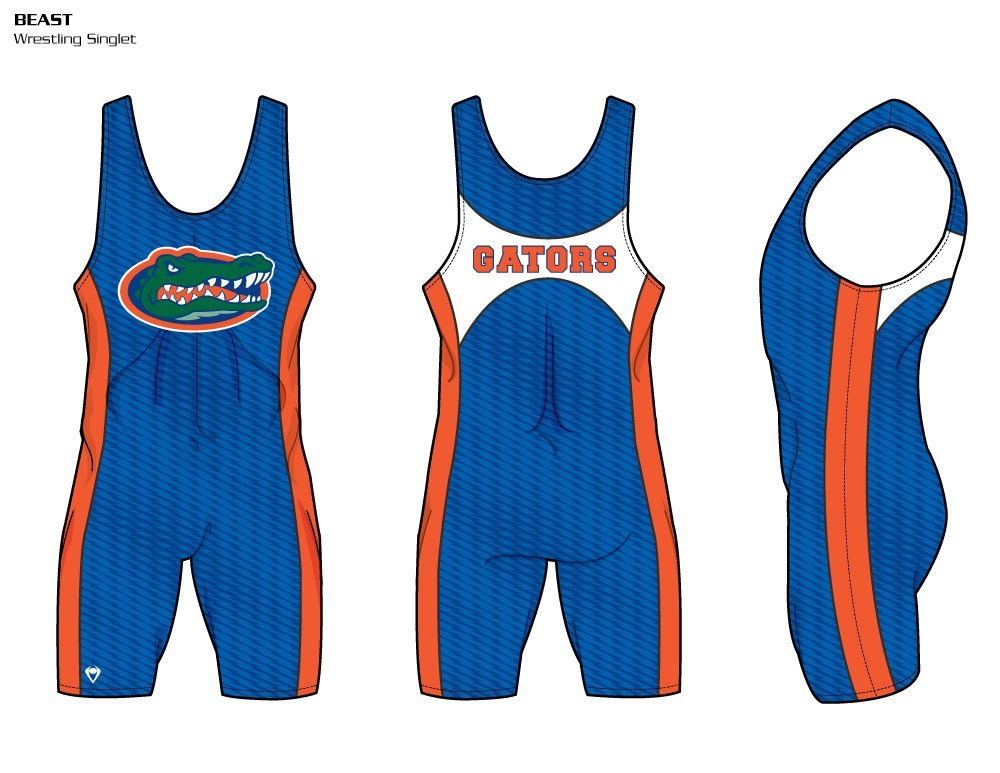 Beast Sublimated Wrestling Singlet