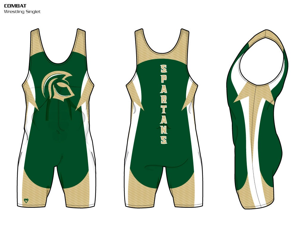 Combat Sublimated Wrestling Singlet