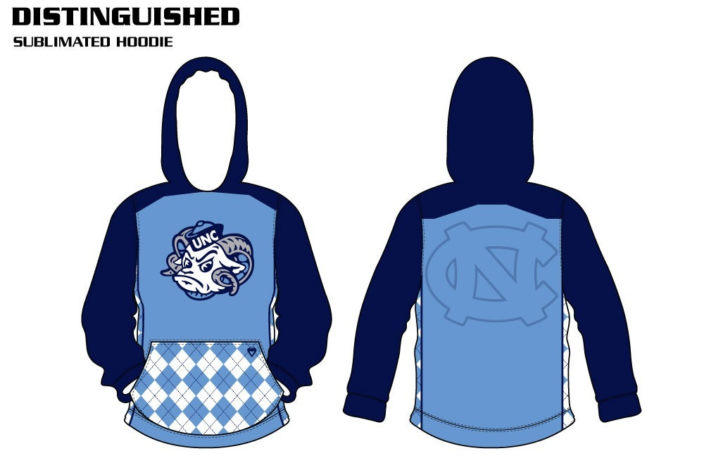 Distinguished Sublimated Hoodie