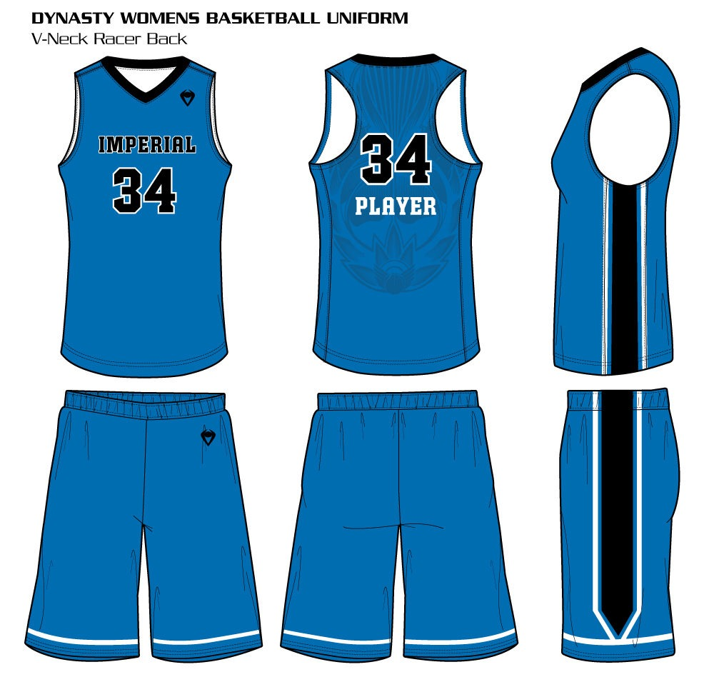 Dynasty Women's Sublimated Basketball