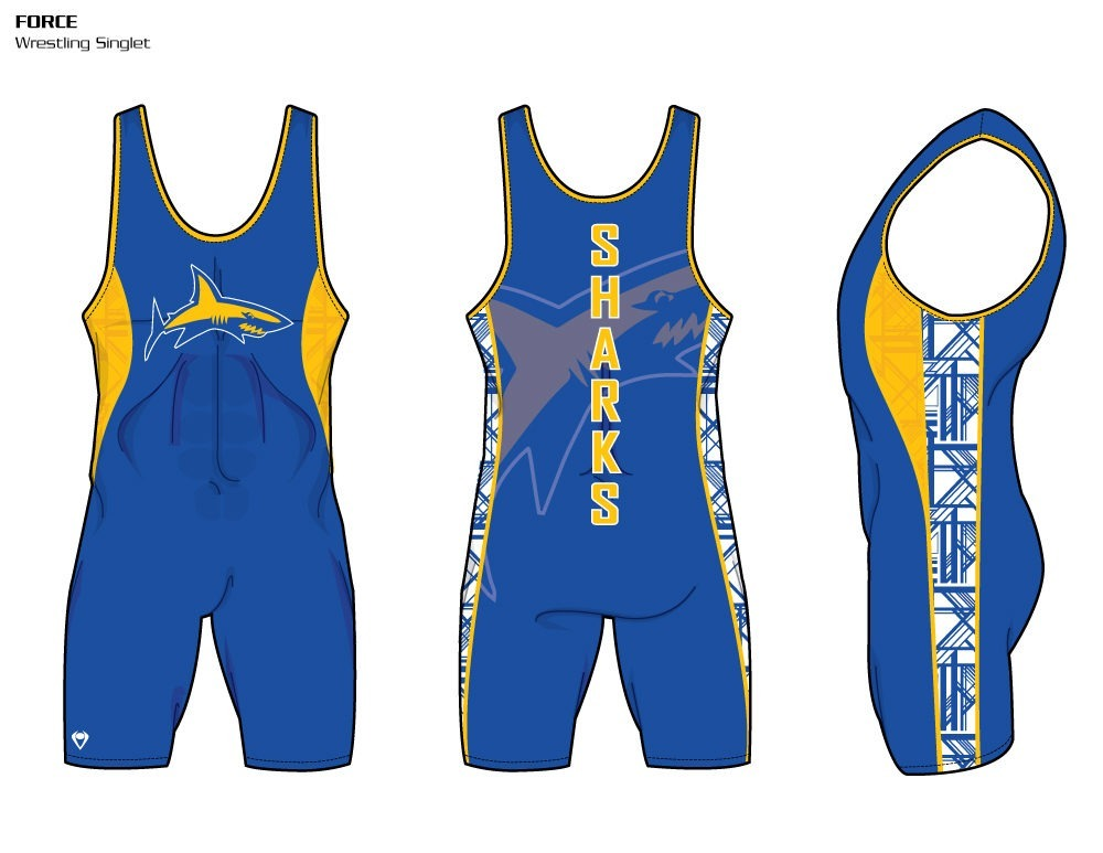Force Sublimated Wrestling Singlet
