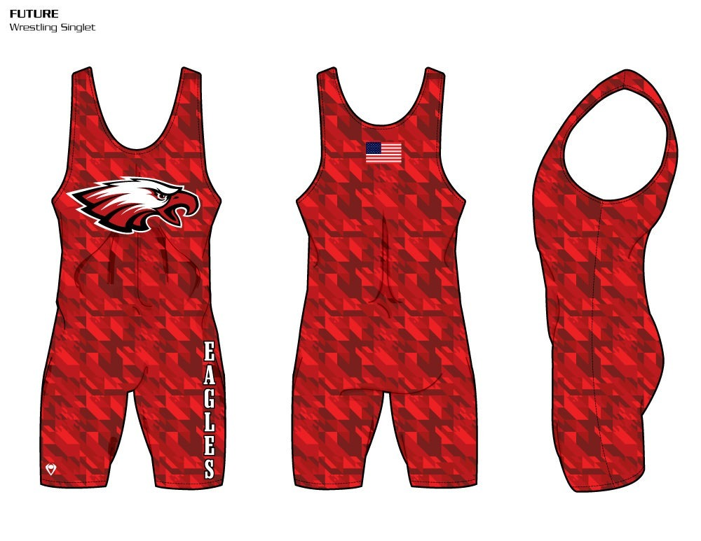 Future Sublimated Wrestling Singlet