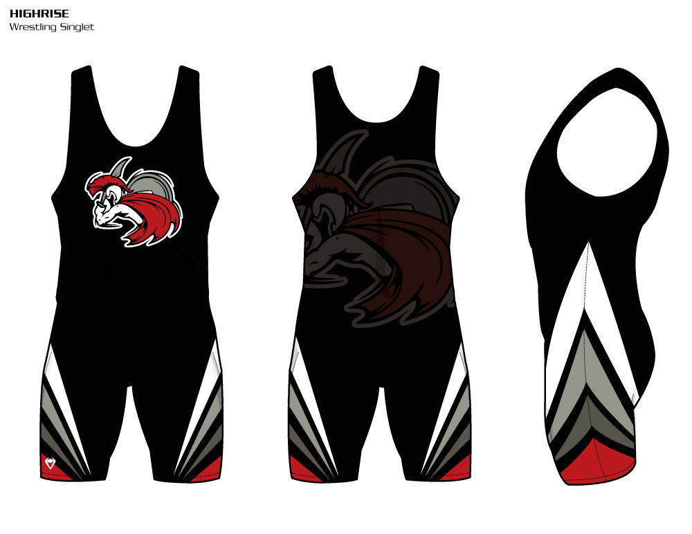 Highrise Sublimated Wrestling Singlet
