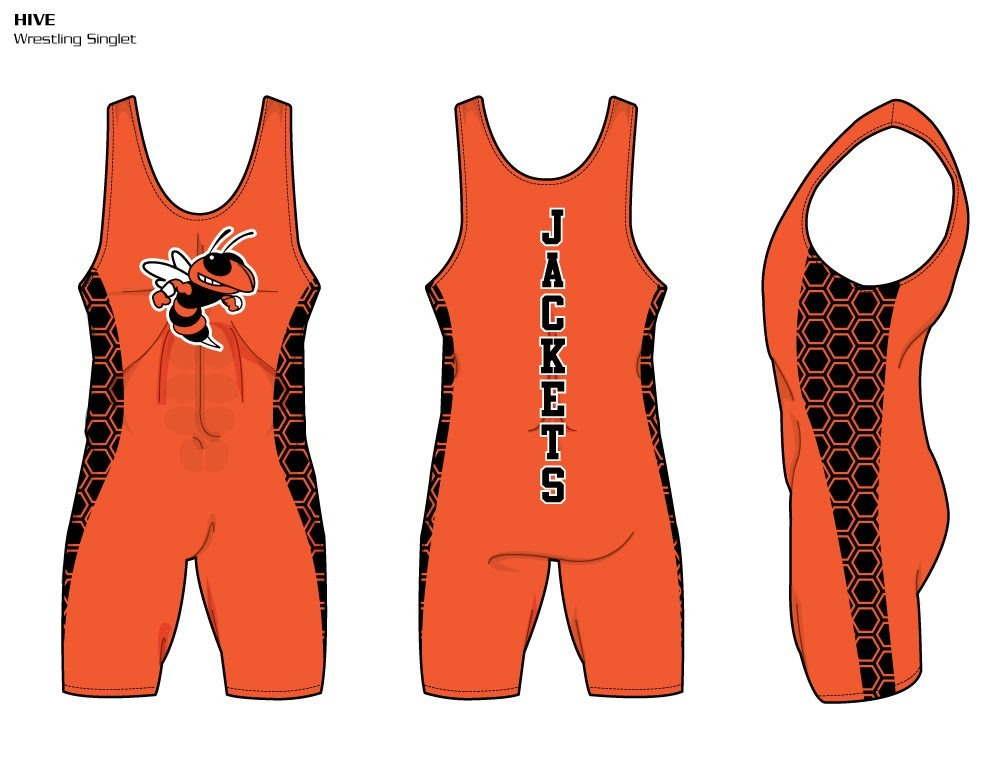 Hive Sublimated Wrestling Singlet