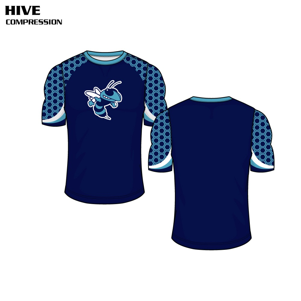 Hive Sublimated Compression Top