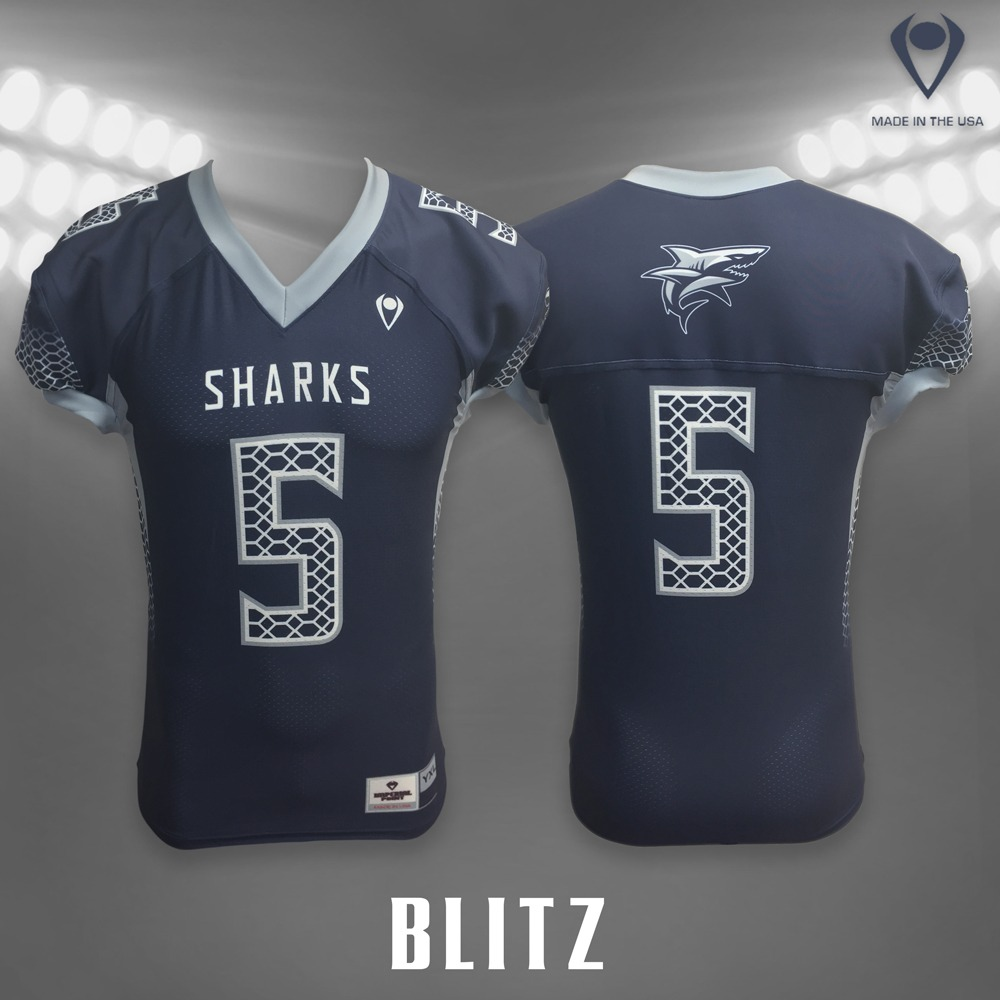 Blitz Sublimated Football Jersey