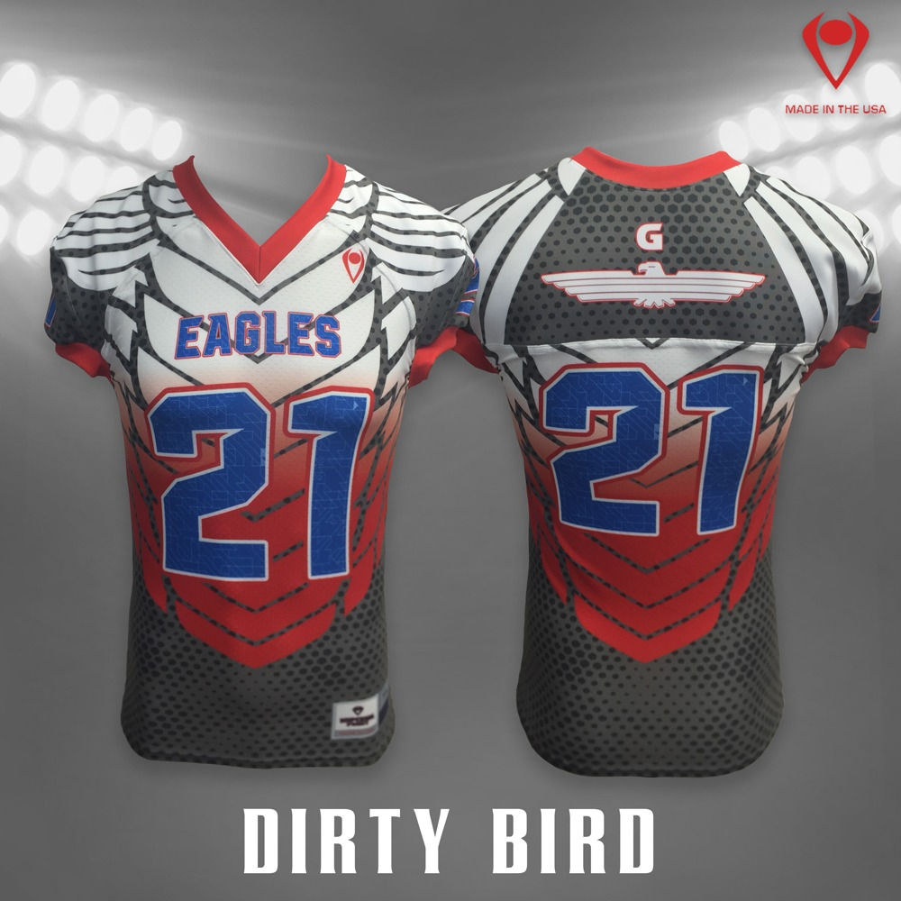 Dirty Bird Sublimated Football Jersey