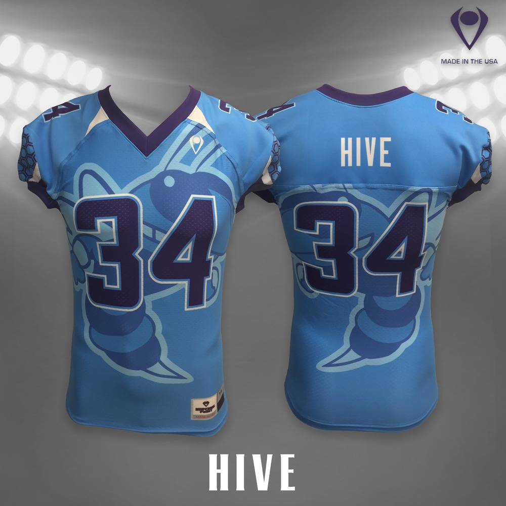 dbf05a01283 Hive Sublimated Football Jersey