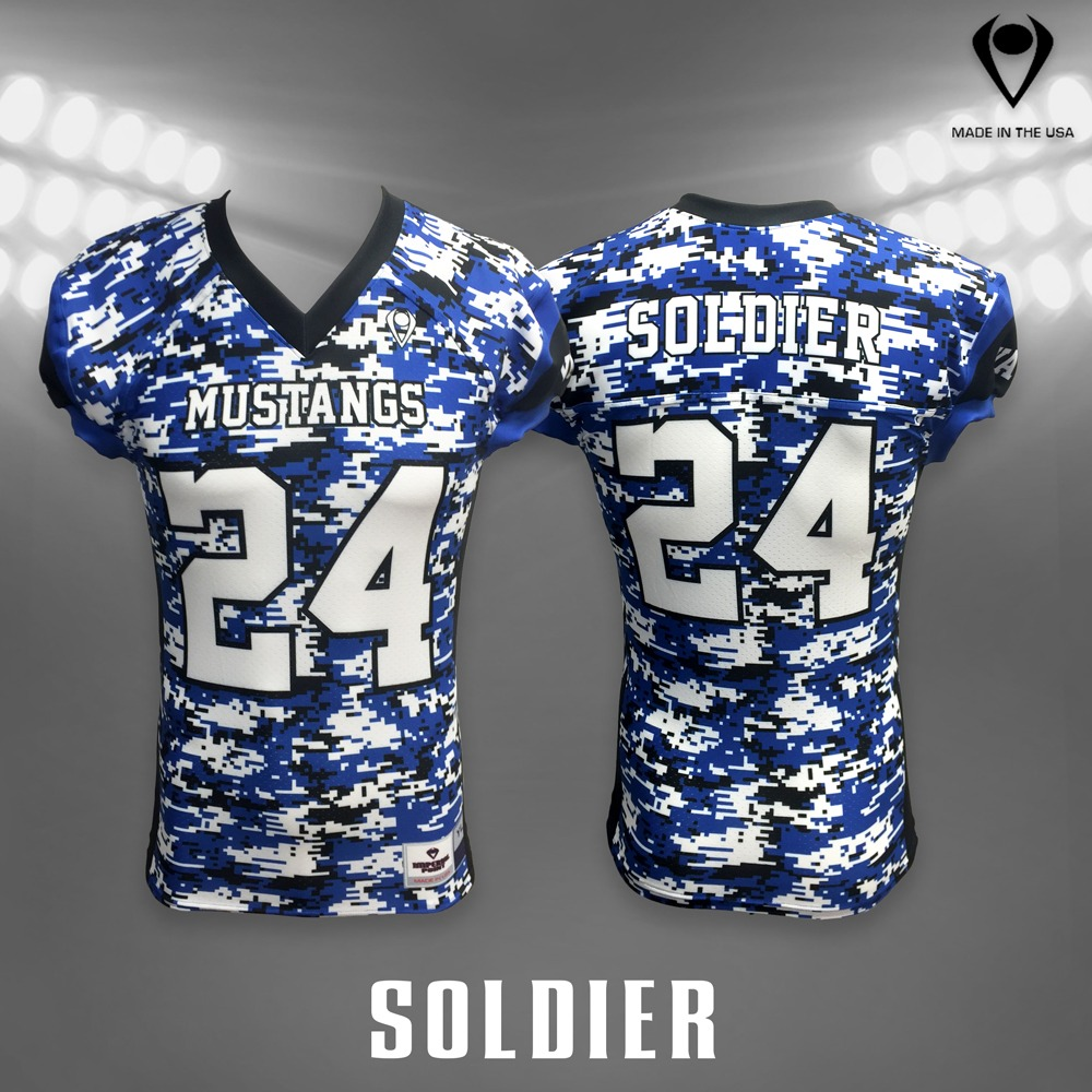Soldier Sublimated Football Jersey