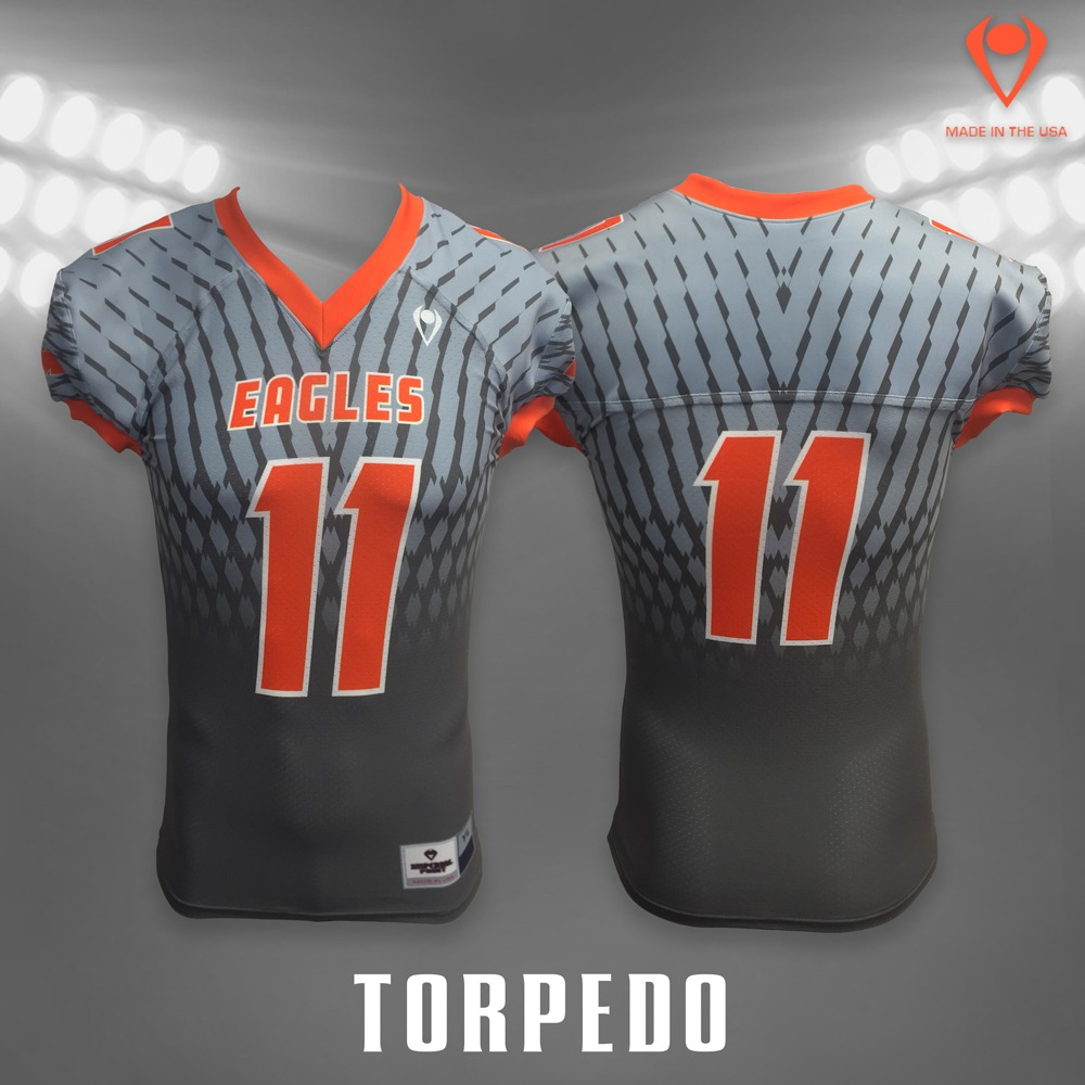 Torpedo Sublimated Football Jersey