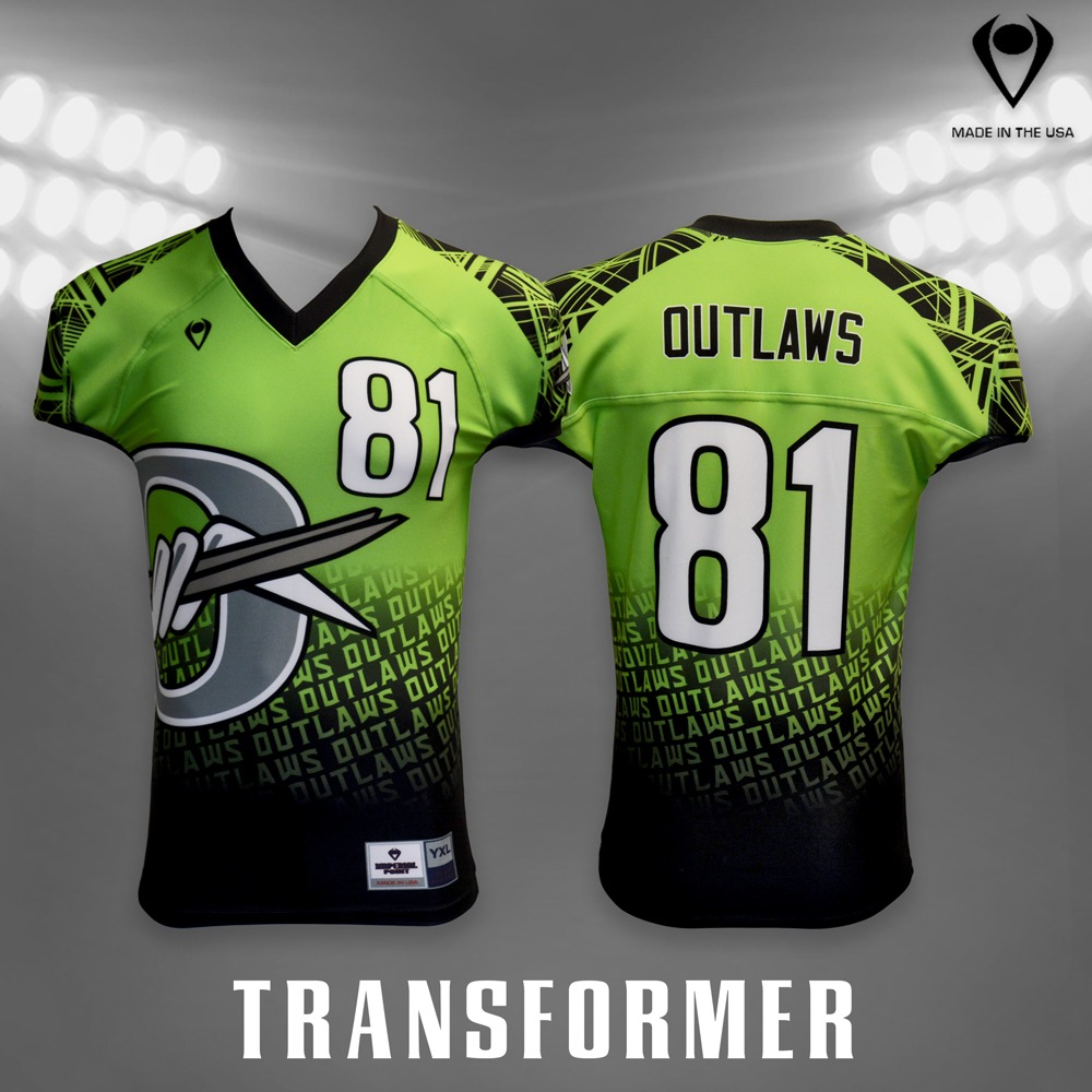 Transformer Sublimated Football Jersey Custom Football Jerseys Custom Football Uniforms