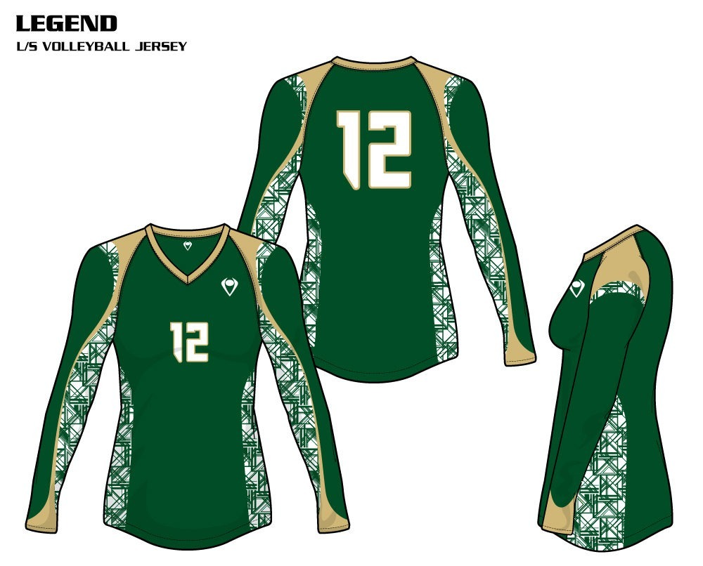 Legend Women's Sublimated Volleyball Jersey
