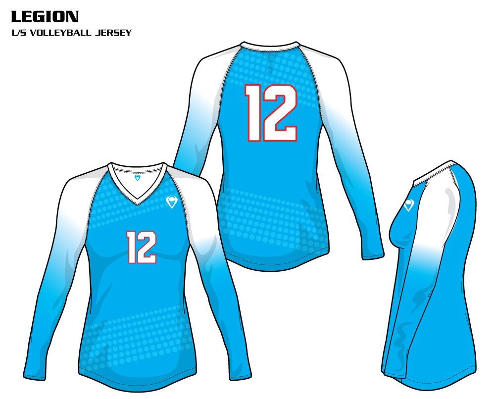 Legion Women's Sublimated Volleyball Jersey