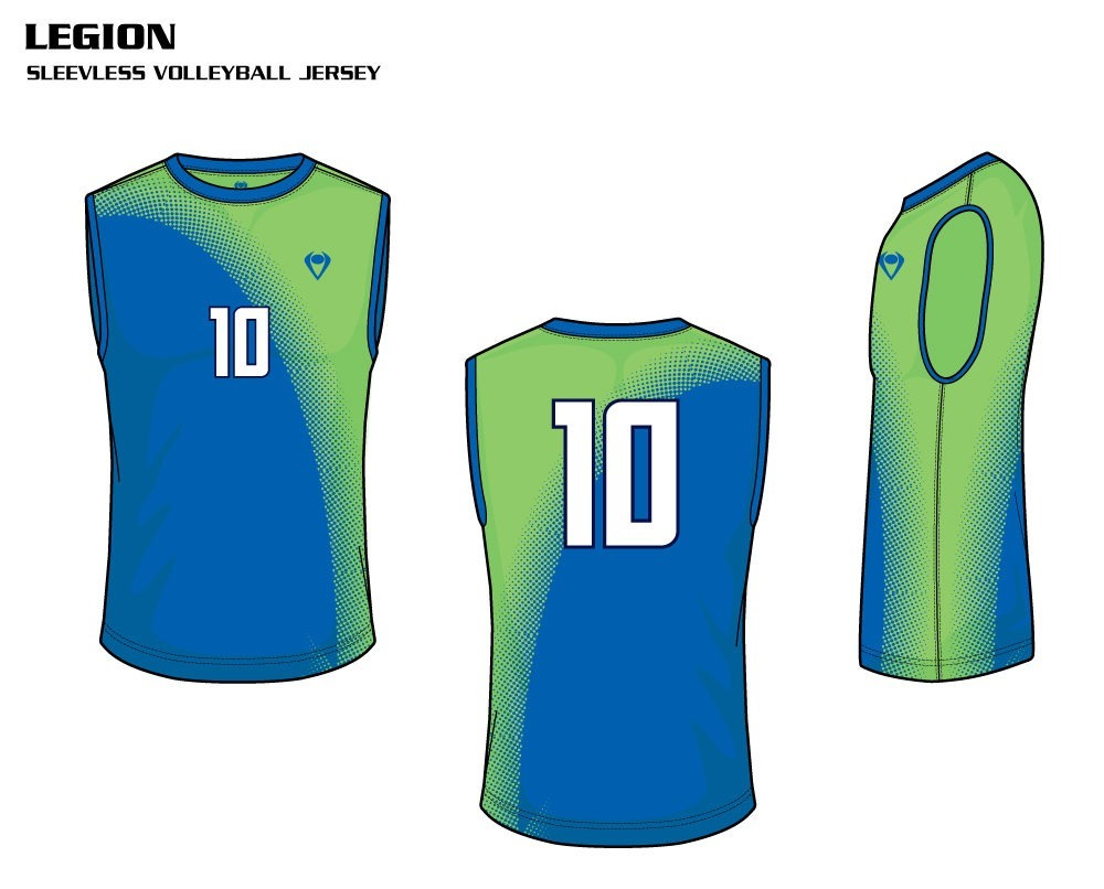 Legion Men's Sublimated Volleyball Jersey