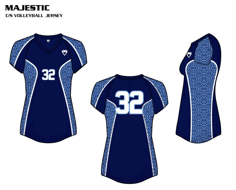 Majestic Women's Sublimated Volleyball Jersey