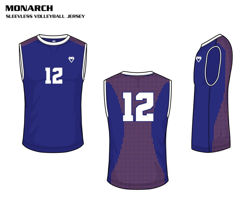 Monarch Men's Sublimated Volleyball Jersey