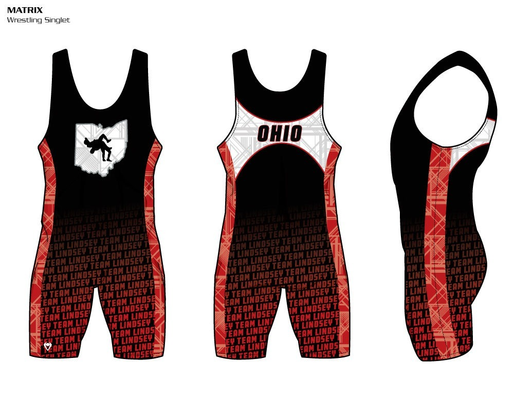 lightweight, custom Wrestling Singlets your players will feel cool and comfortable in throughout the match!