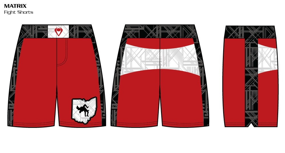 Matrix Sublimated Fight Shorts