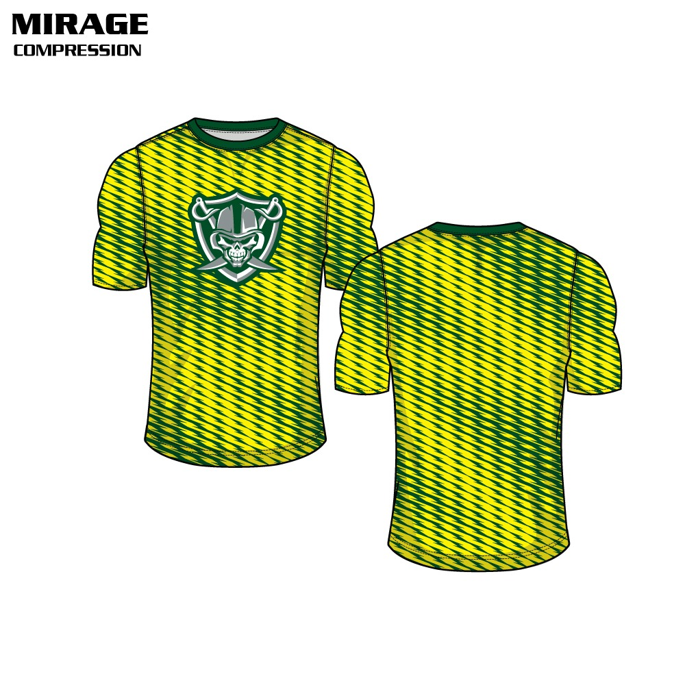 Mirage Sublimated Compression Top