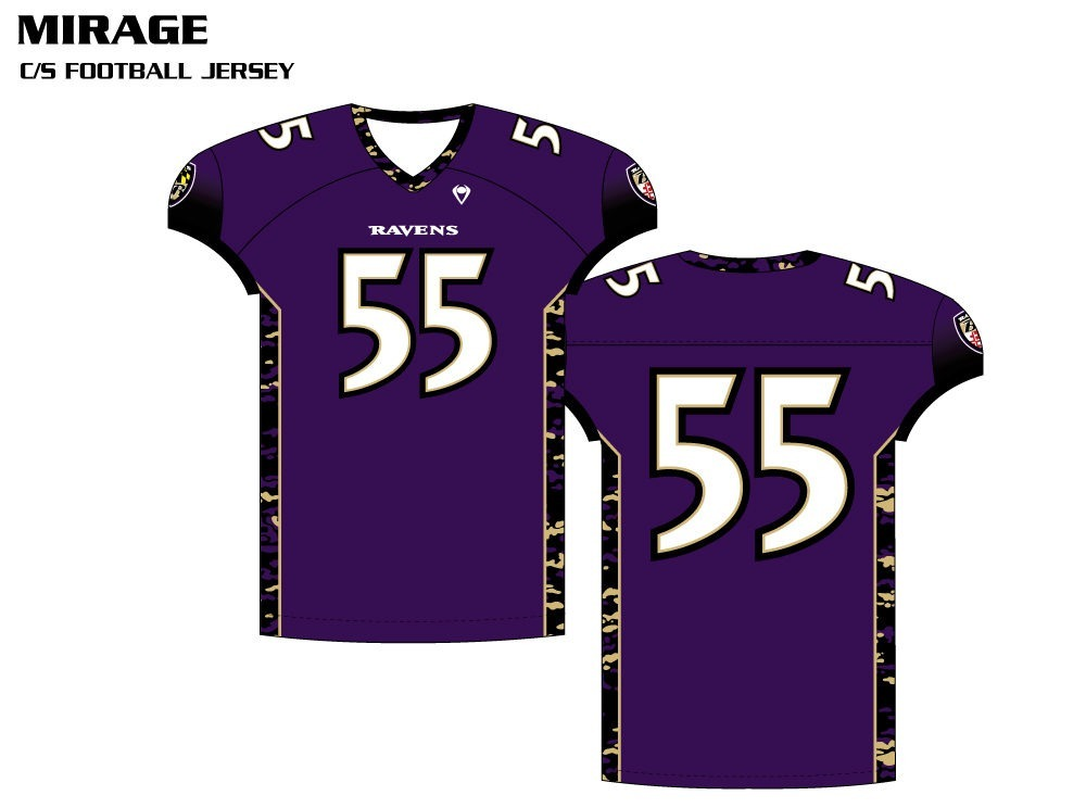 Mirage Sublimated Football Jersey