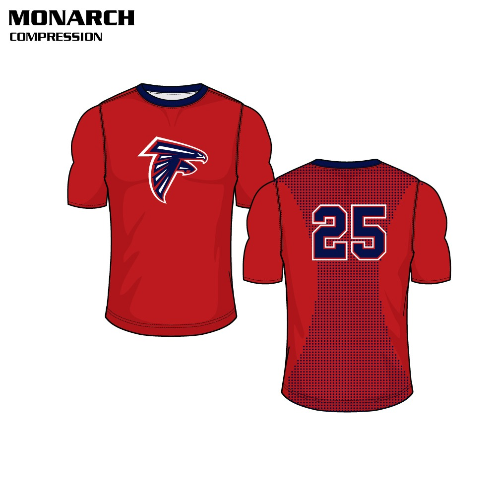 Monarch Sublimated Compression Top