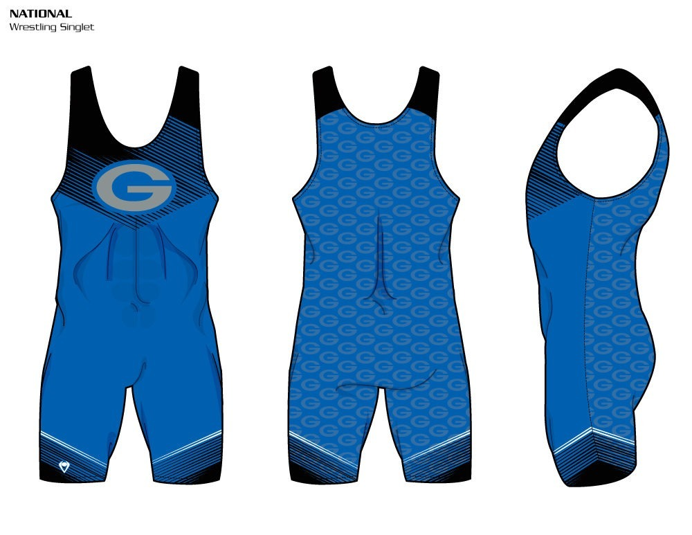 National Sublimated Wrestling Singlet