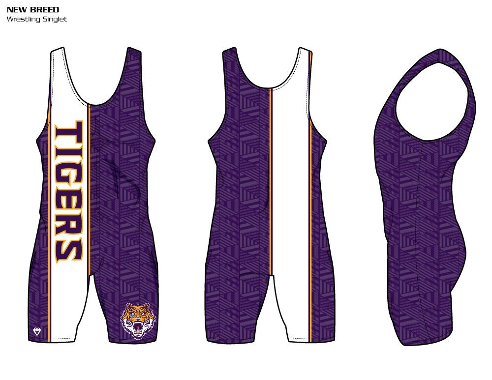 New Breed Sublimated Wrestling Singlet