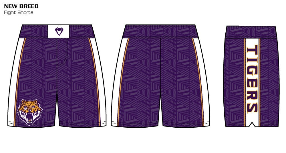 New Breed Sublimated Fight Shorts