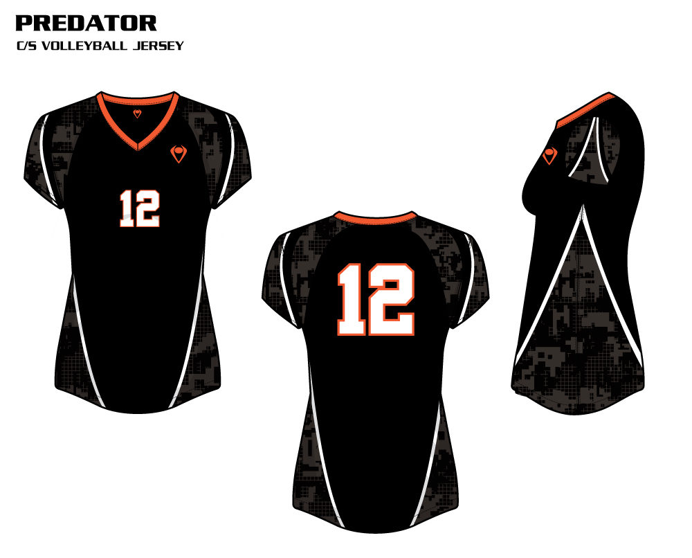 Predator Women's Sublimated Volleyball Jersey
