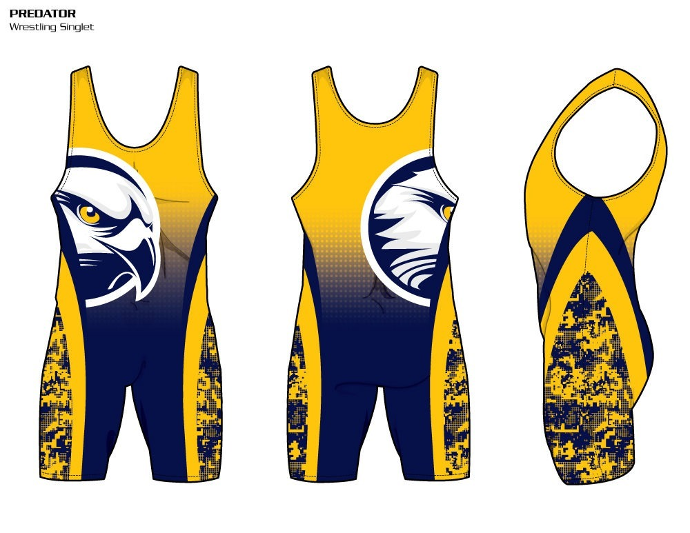 Predator Sublimated Wrestling Singlet