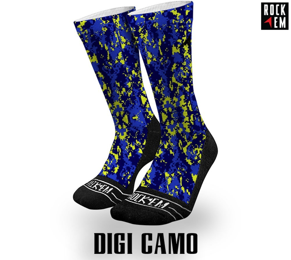 DigiCamo Sublimated Sock