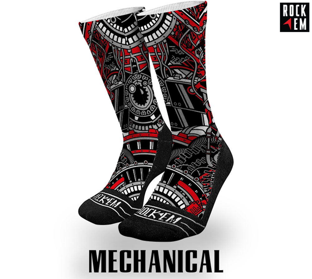 Mechanical Sublimated Socks
