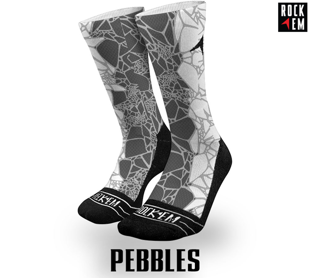 Pebbles Sublimated Sock