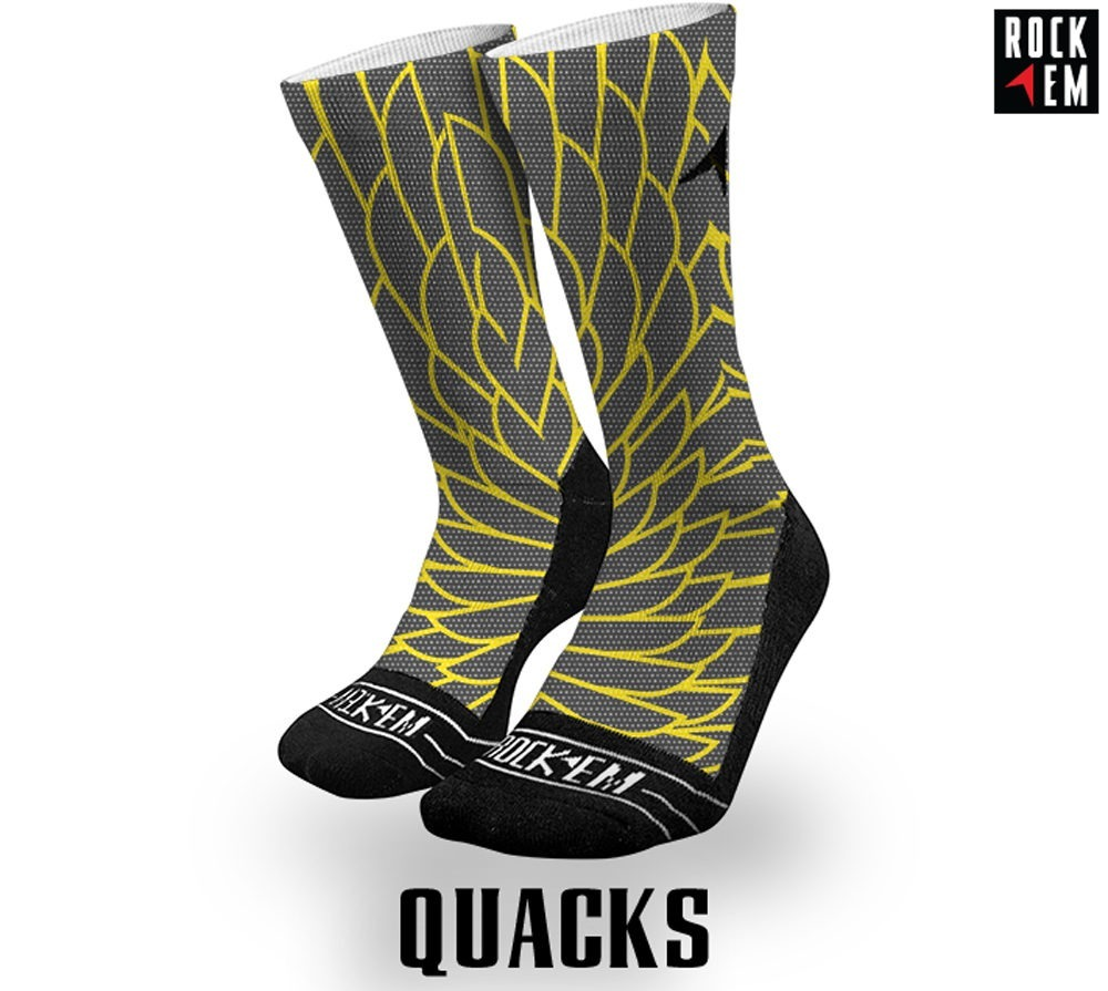 Quacks Sublimated Sock