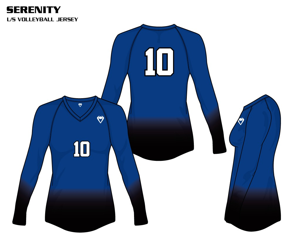 Serenity Women's Sublimated Volleyball Jersey