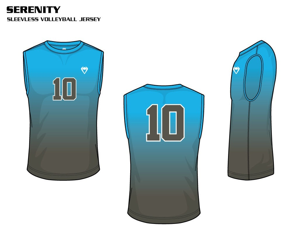 Serenity Men's Sublimated Volleyball Jersey