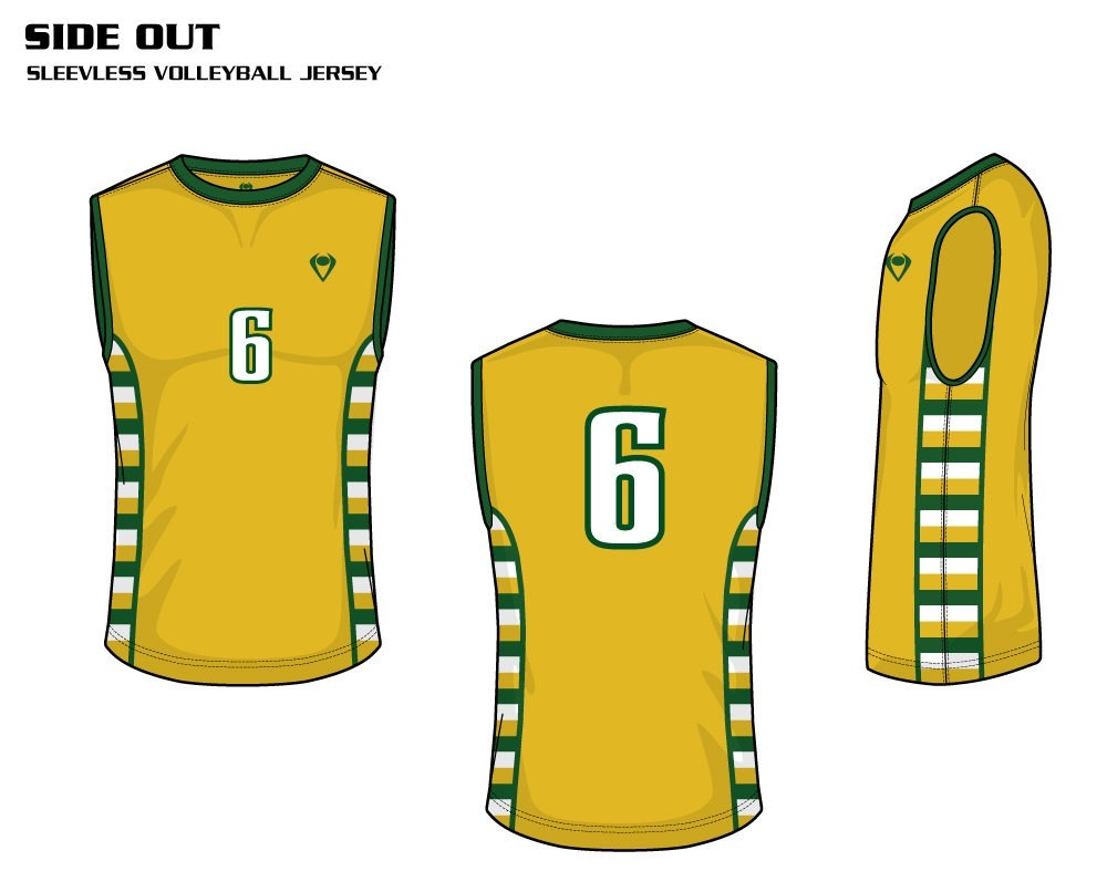 Side Out Men's Sublimated Volleyball Jersey