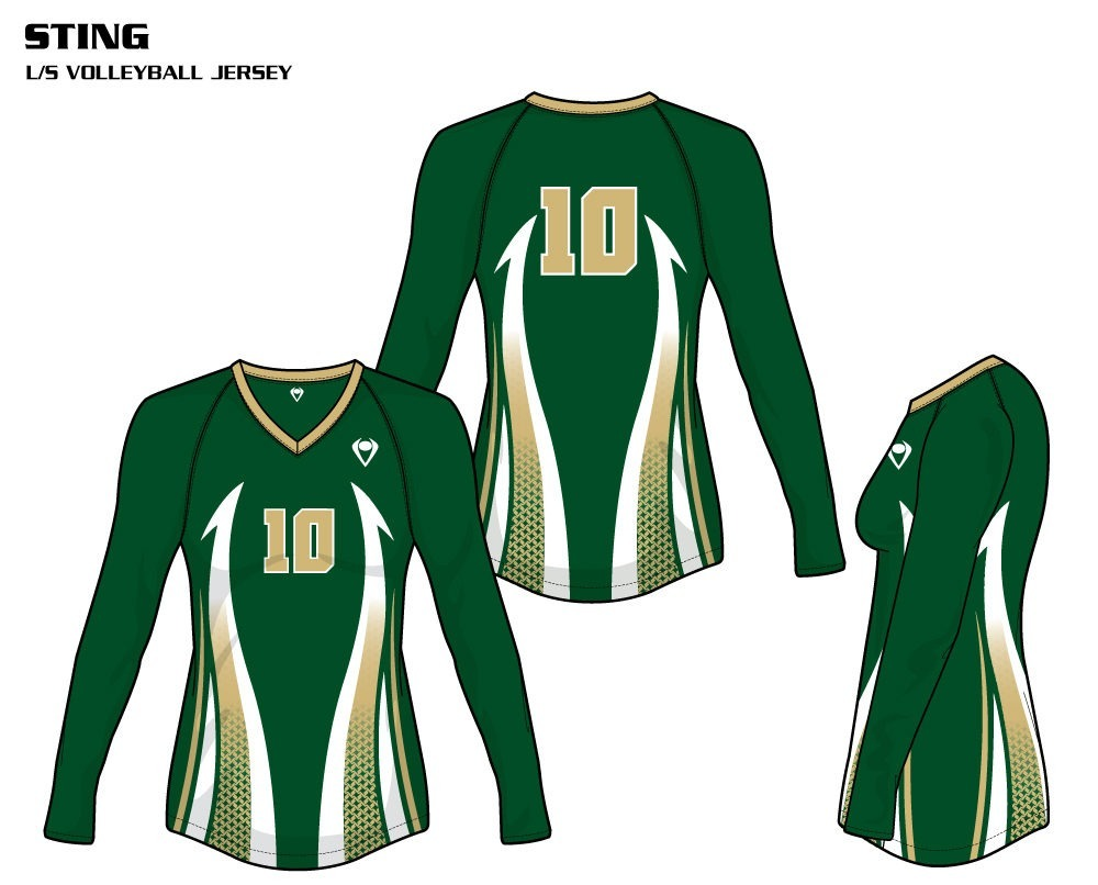 Sting Women's Sublimated Volleyball Jersey