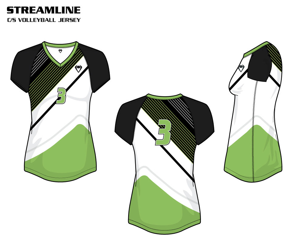 Streamline Women's Sublimated Volleyball Jersey
