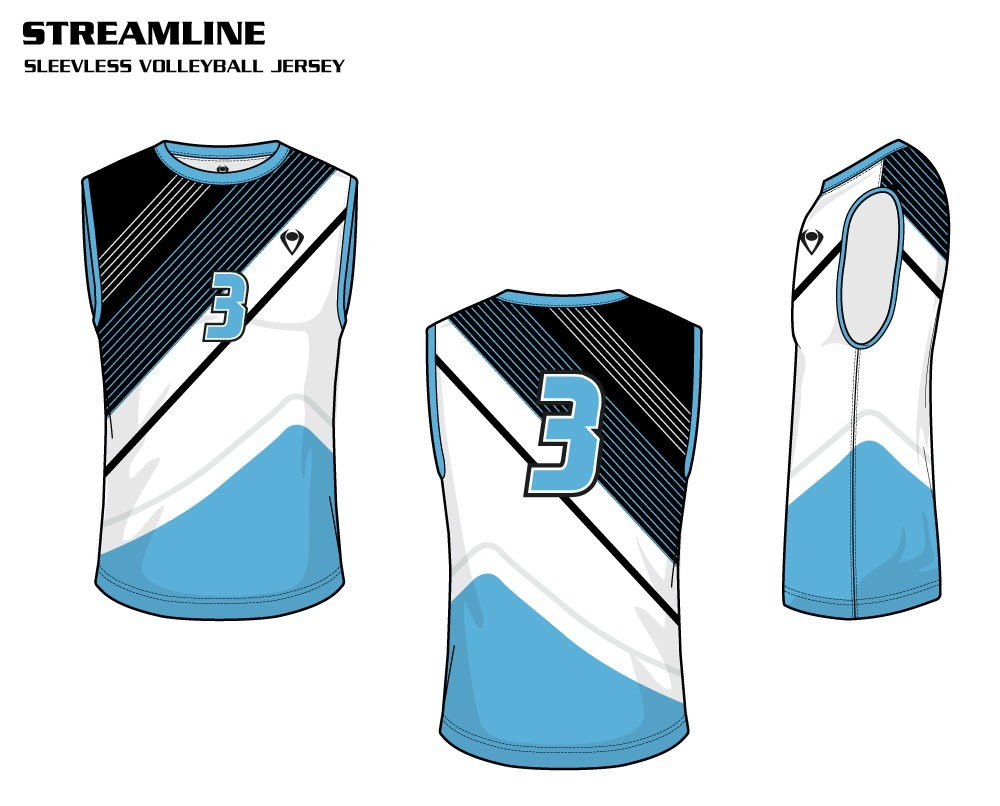 Streamline Men's Sublimated Volleyball Jersey
