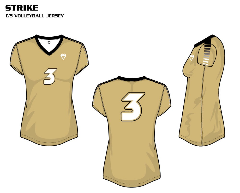 Strike Women's Sublimated Volleyball Jersey