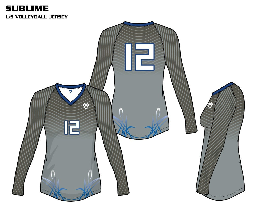 Sublime Women's Sublimated Volleyball Jersey