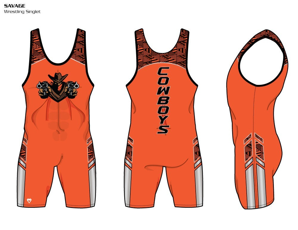 Savage Sublimated Wrestling Singlet