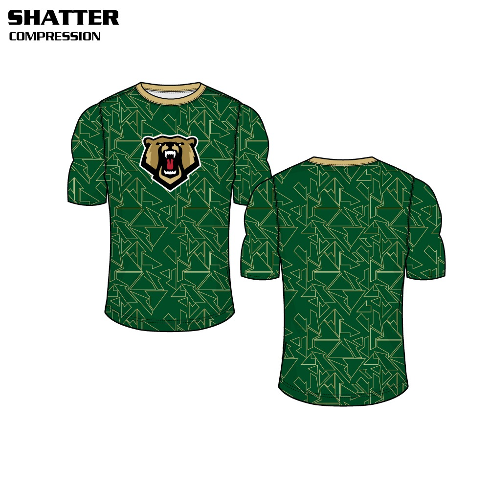 Shatter Sublimated Compression Top