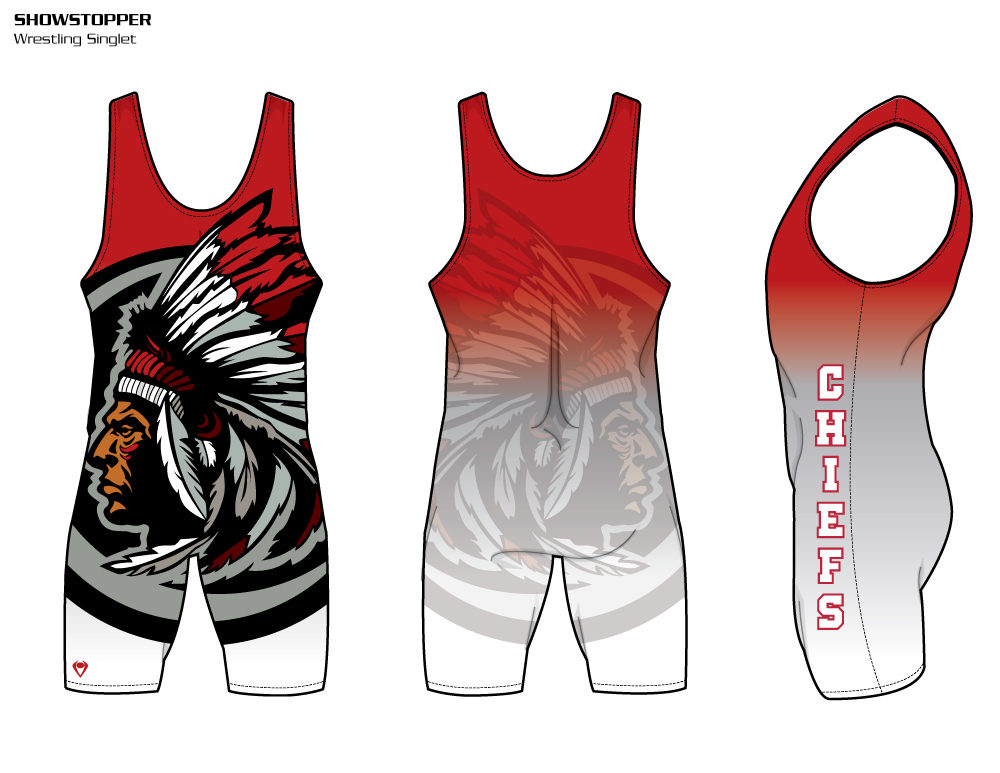 Showstopper Sublimated Wrestling Singlet