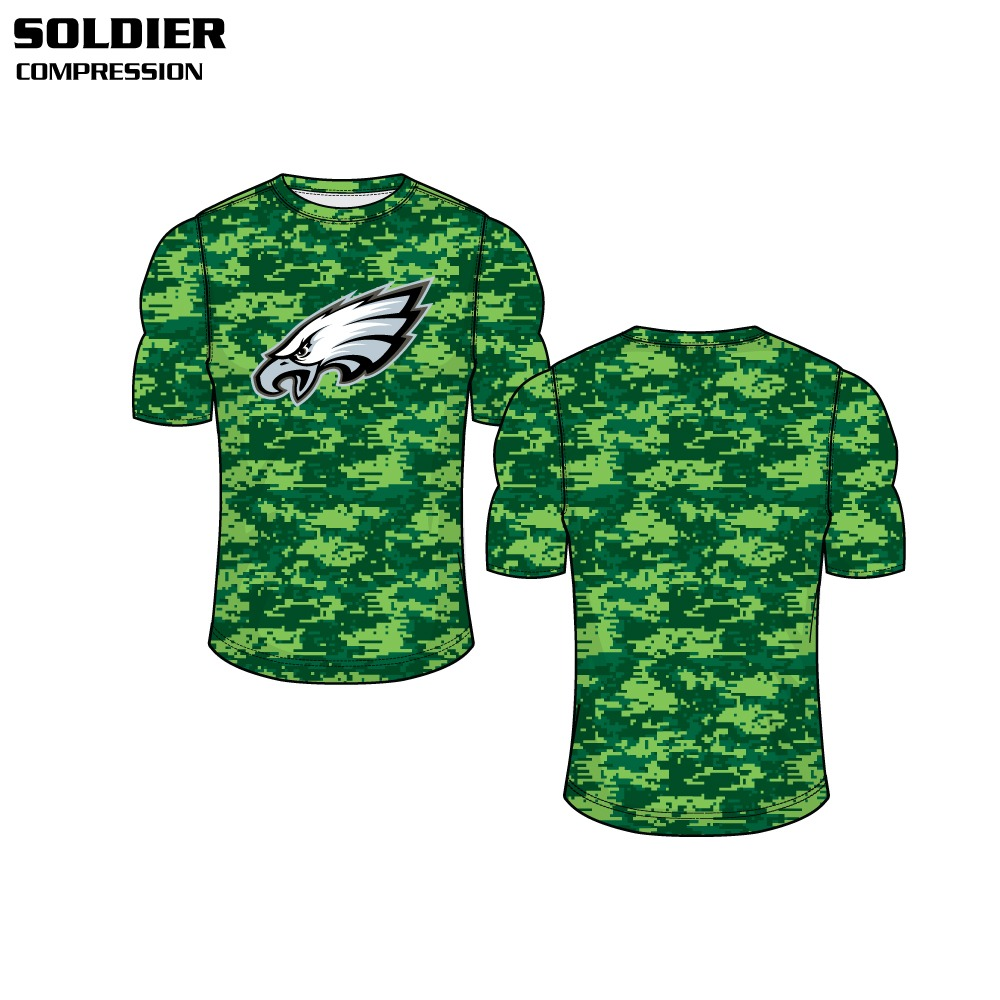Soldier Sublimated Compression Top