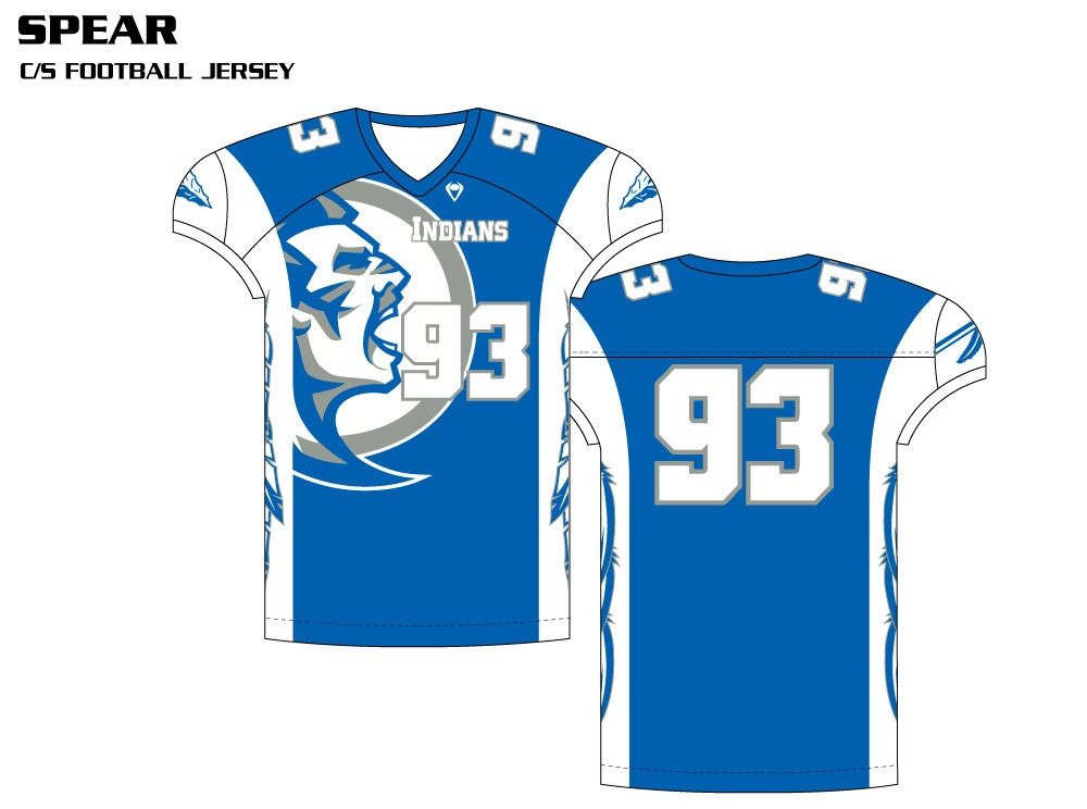 Spear Sublimated Football Jersey
